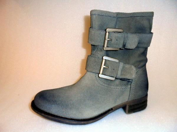 KA11944139 SPM Damen Stiefelette Boots grau Leder