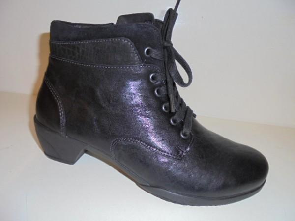 265032 Fidelio Damenschuhe Stiefelette Boots Leder schwarz