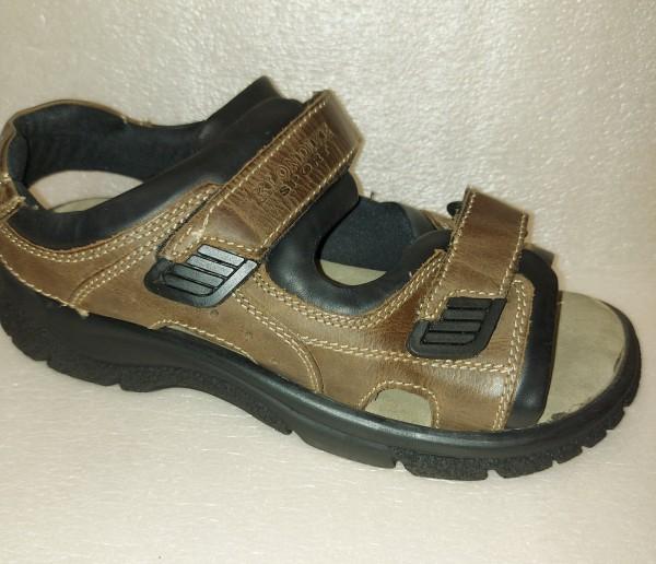 Klondike Herren Schuhe Sandale Outdoorsandale 665714 braun