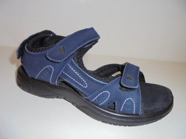 1727302 Sana Vital Damenschuhe Sandale Treckingsandale Freizeit blau