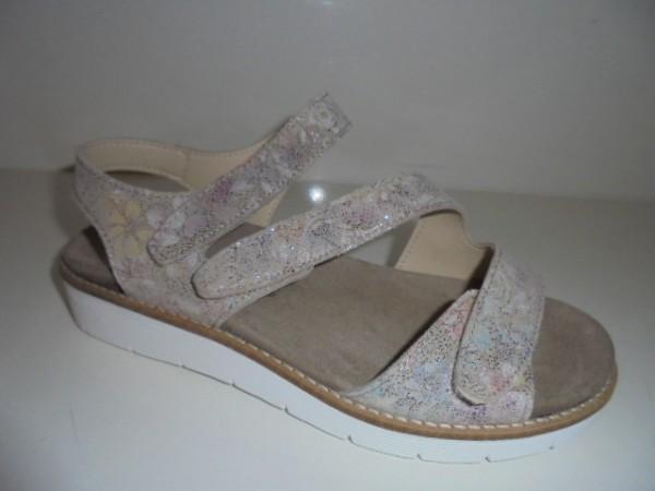 6976 KOCH Damenschuhe Sandale für lose Einlagen Leder ice flox