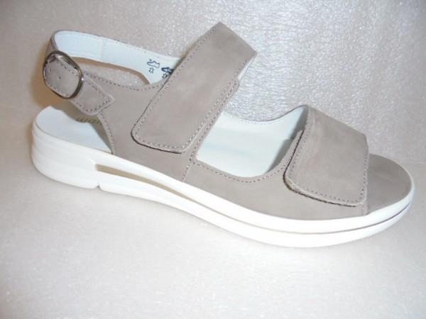 Waldläufer Damen Sandale Leder 922005 beige