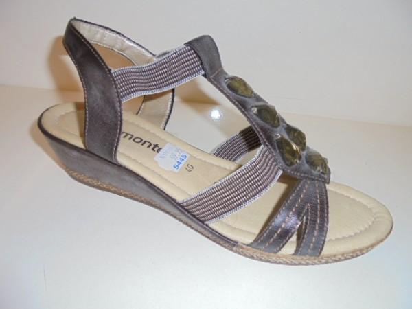 D2456 Remonte Damenschuhe Sandalette Kunstleder braun
