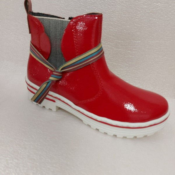 Rieker Damen Boots Stiefeletten Z8190 rot