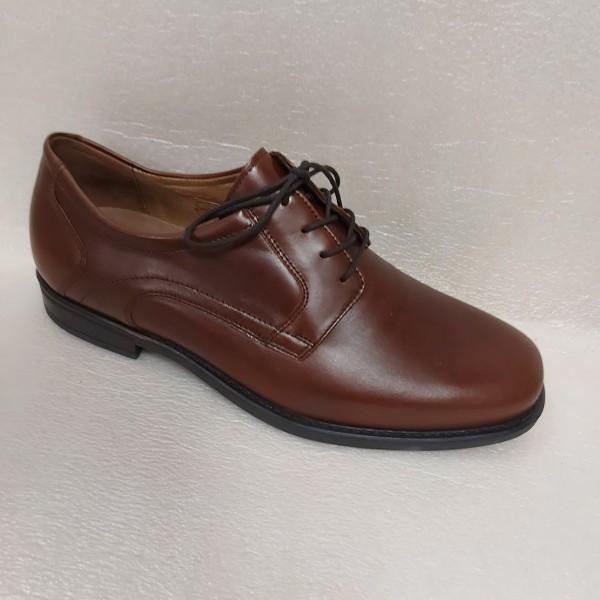 Waldläufer Herren Schuhe Schnürschuhe Leder 641001 braun