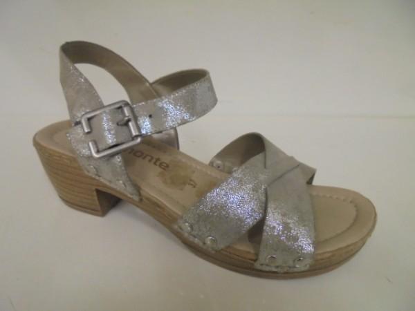 D6955 Remonte Damenschuhe Sandalette Leder gold