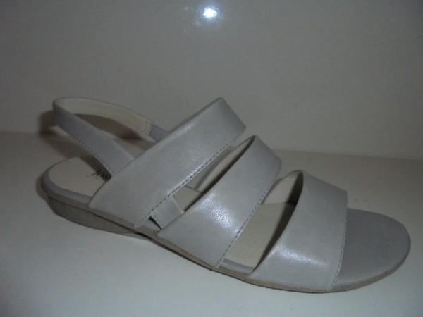 Josef Seibel Damen Sandale Sandalette Leder grau 87511 Form Fabia