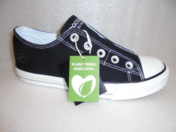 Dockers Damenschuhe Sneaker Schlupfschuhe Textil 36UR202 schwarz