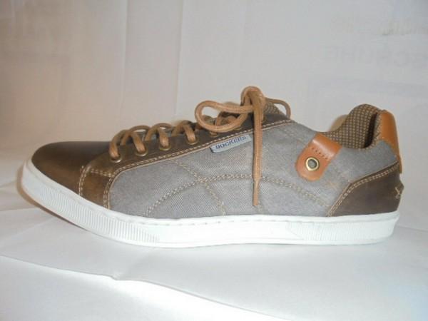 Dockers Herren Sneaker Schnürschuhe braun 40CY001 Grösse 41