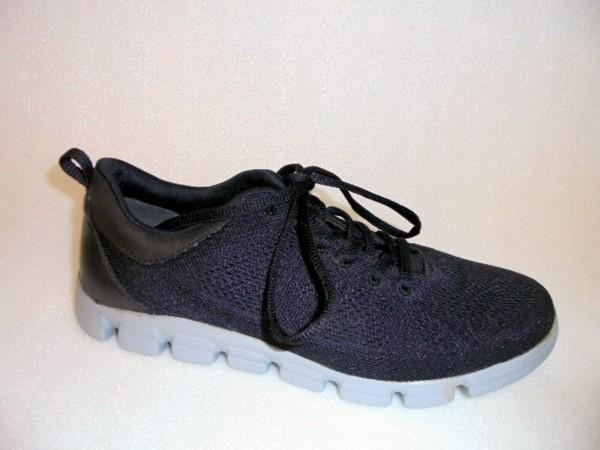 23701 Tamaris Damen Sneaker Sportschuhe Textil-kombi schwarz