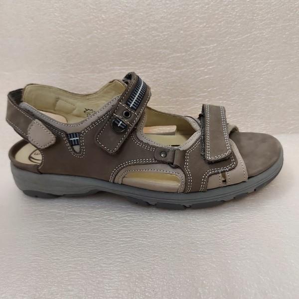 Waldläufer Damen Sandale Trecking Leder 361004 pietra