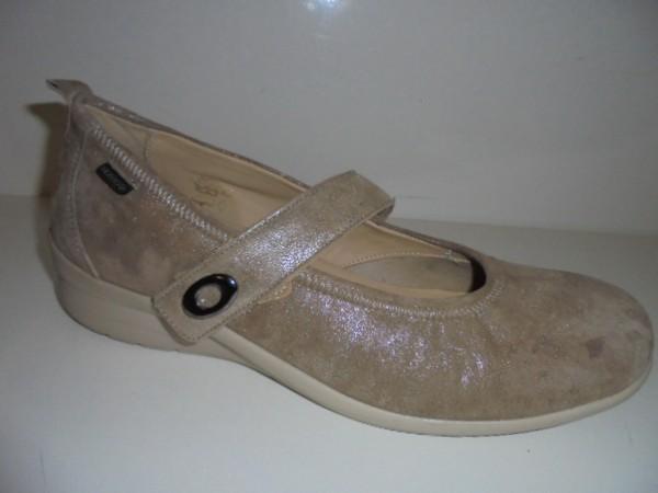 Fidelio Damenschuhe Ballerina Leder beige 356015