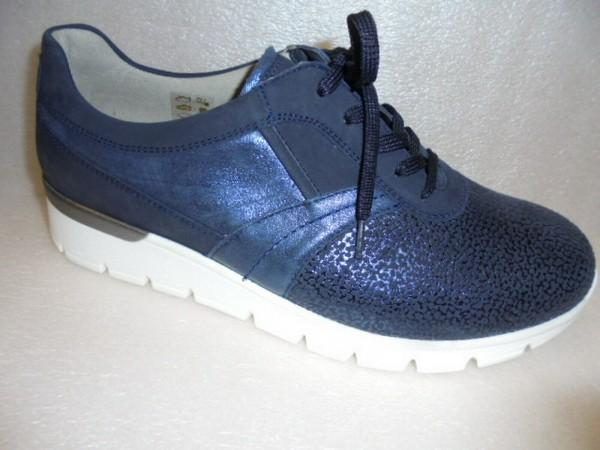 Waldläufer Damen Schuhe Leder/Stretch OrthoTritt 626K01 blau