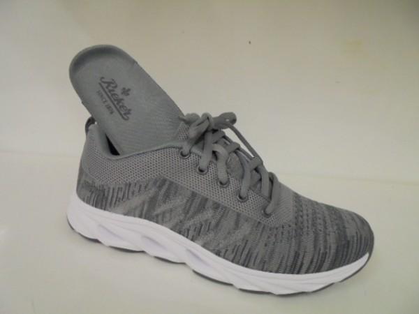 N9300 Rieker Damenschuhe Sneaker Sportschuhe Walkingschuhe grau