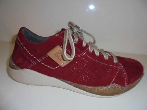 Josef Seibel Damen Schnürschuhe Leder rot 69401 Modell Ricky
