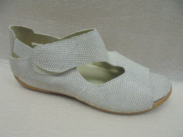 Waldläufer Damenschuhe Sandale Leder für Einlagen 342004 silber
