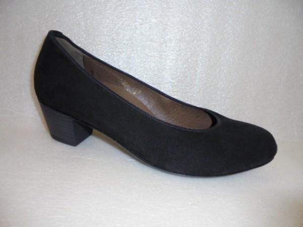 Waldläufer Damen Schuhe Pumps Echtleder schwarz 358501