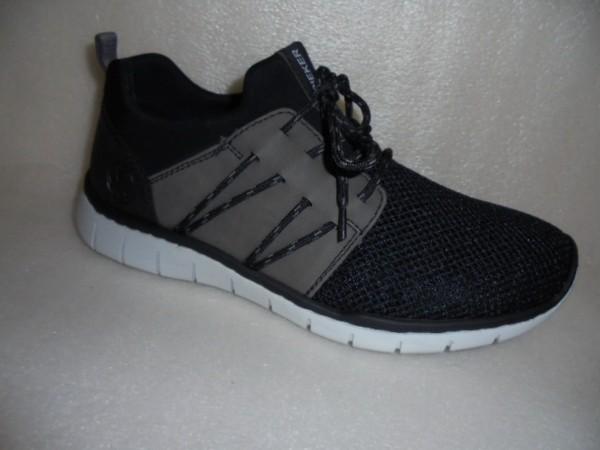 RIEKER Herren Schuhe Sneaker Sportschuhe B8784 schwarz