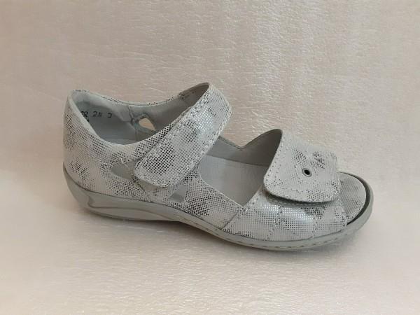 Waldläufer DamenSchuhe Sandale Leder für Einlagen 582028 stein