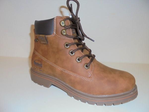 43EA301 Dockers Damenschuhe Stiefelette Boots braun
