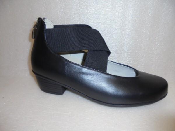 Waldläufer Damen Schuhe Pumps Leder 967501 schwarz
