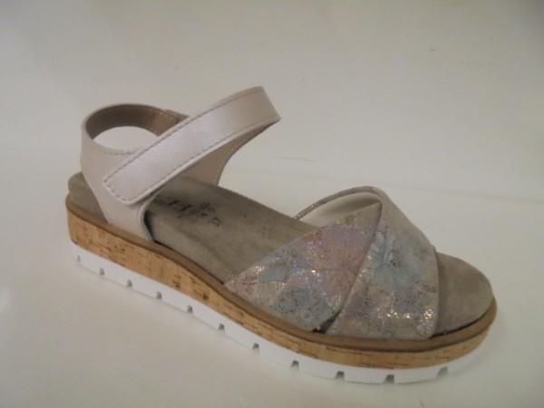 7631 KOCH Damenschuhe Sandale für lose Einlagen Leder ice flox
