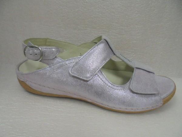 Waldläufer Damen Schuhe Sandale Leder für Einlagen 342015 flieder