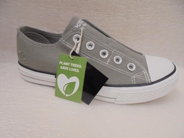Dockers Damenschuhe Sneaker Schlupfschuhe Textil 36UR202 grau