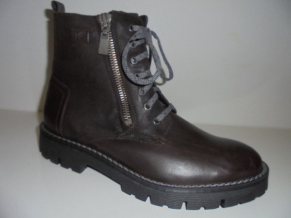35807 Josef Seibel Herrenstiefel Boots Echtleder braun Form James