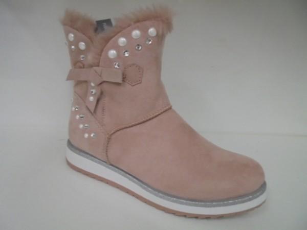 26854 Marco Tozzi Damenschuhe Stiefeletten Boots rose combi 53b7202925