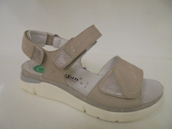 42115 Reflexan Damenschuhe Sandale stone Leder