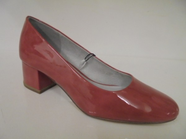 22302 Jana Damenschuhe Pumps Lacksynthetik berry