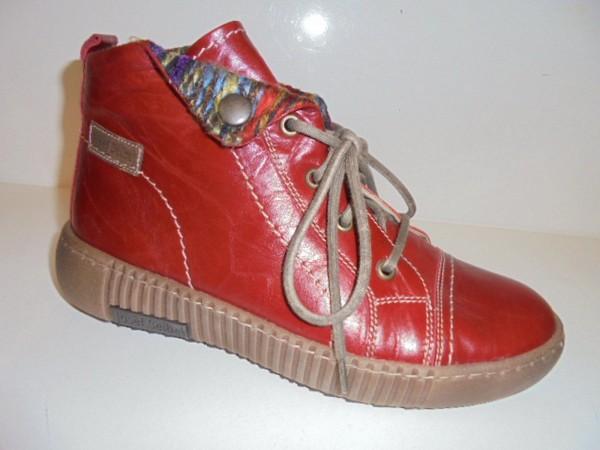 Josef Seibel Damen Boots Stiefelette Leder rot 84609 Modell Maren