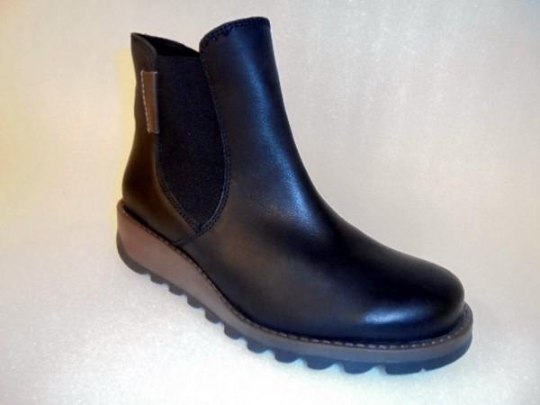 82605 Josef Seibel Damenstiefelette Echtleder Boots schwarz Modell Lina