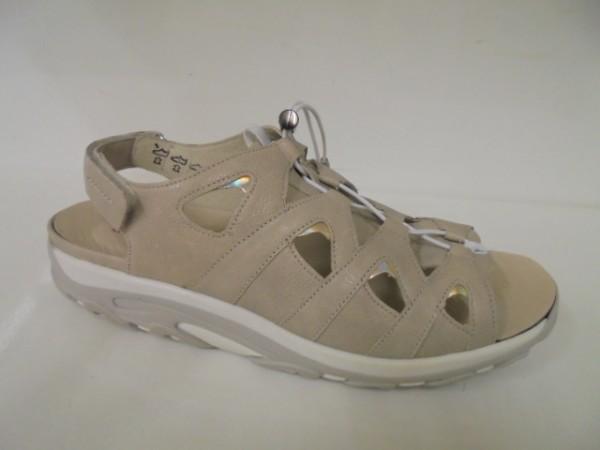 448009 Waldläufer Damenschuhe Sandale Leder beige Dynamic