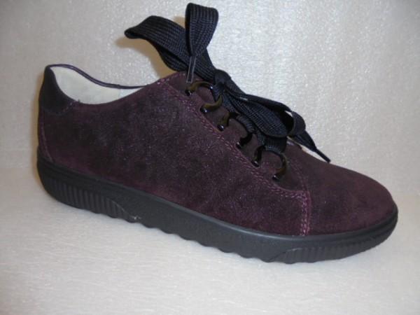 Waldläufer Damen Schuhe Schnürschuhe Leder 910008 brunello