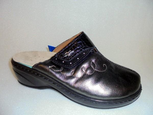 FLY FLOT Damenschuhe Hausschuhe bronze Leder für lose Einlagen 863198