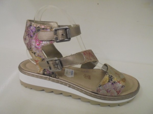 R7752 Remonte Damenschuhe Sandale Leder multi