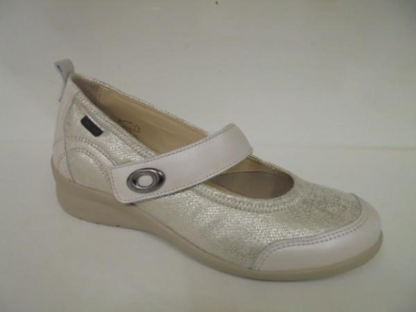356006 Fidelio Damenschuhe Ballerina Leder cream