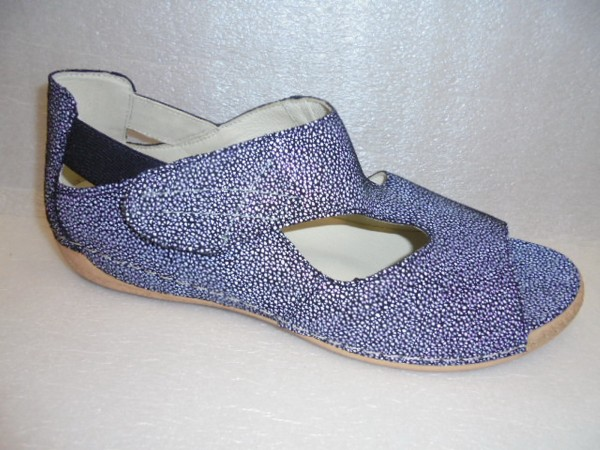 Waldläufer Damenschuhe Sandale Leder für Einlagen 342004 schwarz