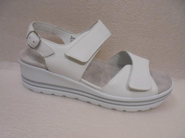 Waldläufer Damen Schuhe Sandale Leder 728007 weiss