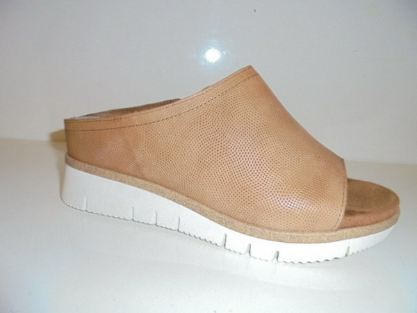 Marco Tozzi Damenschuhe Sandale Leder Pantolette braun nut 27217 Gr. 37