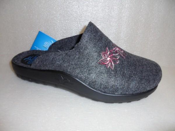 FLY FLOT Damen Schuhe Schlupfschuhe Pantoffel Hausschuhe 863698