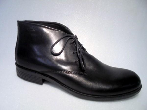 ECCO Herrenschuhe Stiefelette Boots Echtleder schwarz 634544