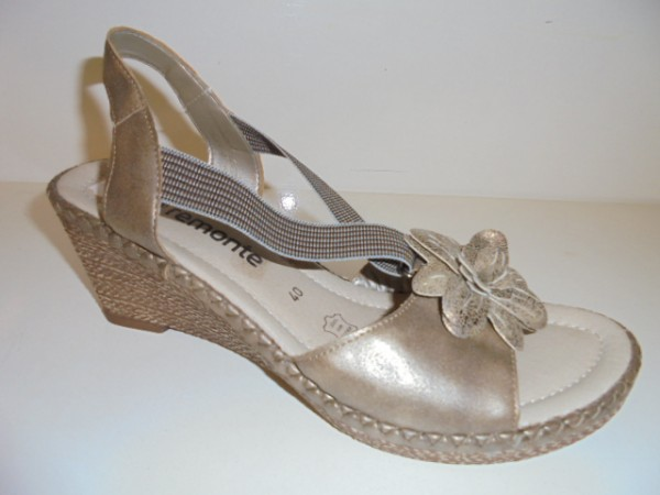 R6761 Remonte Damenschuhe Sandalette metallic