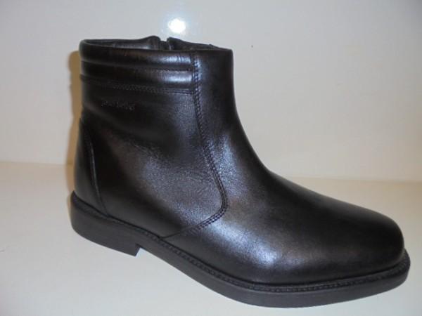 12501 Josef Seibel Herren Boots Echtleder Lammfell schwarz Form Abel