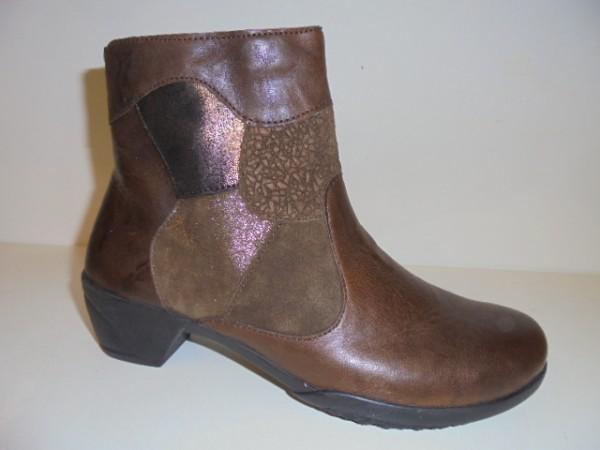 265033 Fidelio Damenschuhe Stiefelette Boots Leder braun