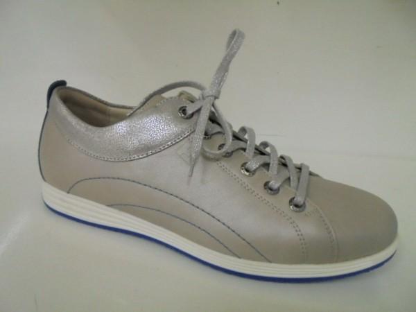 Fidelio Damen Schnürschuhe Leder porzellan 305012