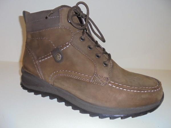 388801 Waldläufer Herrenschuhe Boots braun Leder Warmfutter